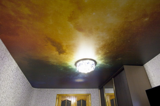 художественный потолок